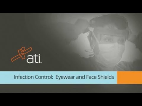 Infection Control Nursing CEU Course: Eyewear and Face Shields