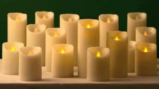 Dazzler Flameless Flickering Candles