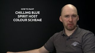 WHTV Tip of the Day - Chilling Blue Spirit Host Colour Scheme.