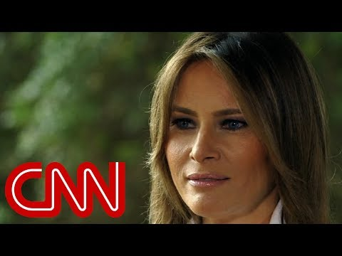Melania reveals meaning of her 'I don't really care' jacket