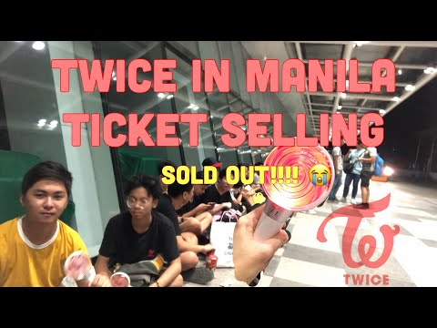 TWICE in Manila ticket selling VLOG | CAMPING OUT FOR 24 HOURS?! WE GOT TICKETS?!