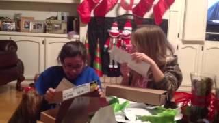 Lauren & Hannah's Christmas Eve present Thumbnail