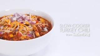 How To Make The Best Slow-cooker Turkey Chili | Myrecipes