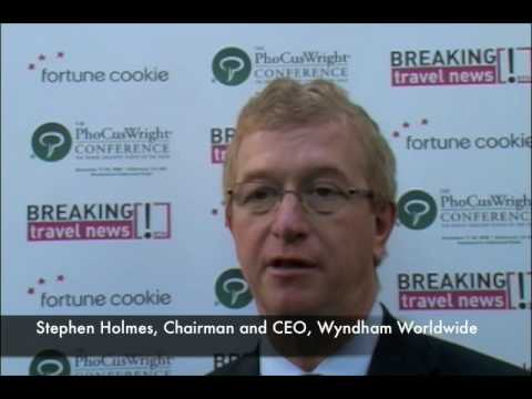 Stephen Holmes, Chairman and CEO, Wyndham @ An insider's view of PhoCusWright 2008