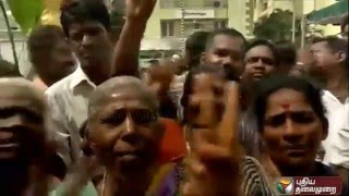 Jubilation and celebration at the ADMK headquarters