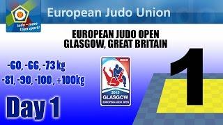 European Judo Open Men - Glasgow (gbr) - Tatami 1
