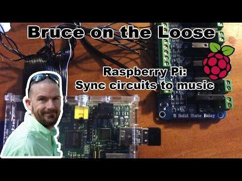 Raspberry Pi: lights sync to music