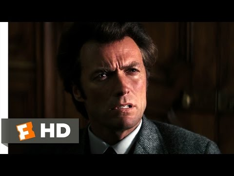 Dirty Harry (1/10) Movie CLIP - That's My Policy (1971) HD