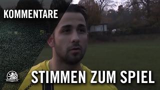 Interview mit Tolgay Asma (Berliner SC) - Stimmen zum Spiel   SPREEKICK.TV