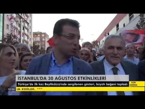 ULUSAL Kanal - 30 Ağustos 2016 - Beylikdüzü'nde 30 Ağustos Zafer Kutlamaları