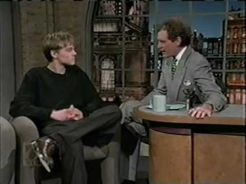 Leonardo Dicaprio on letterman-promoting Basketball diaries