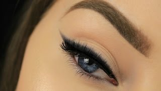 How To: Smokey Winged Eyeliner for Beginners thumbnail