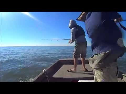 Fall fishing in trinity bay youtube for Trinity bay fishing