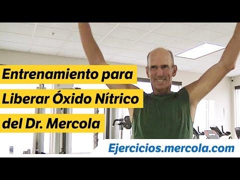 Entrenamiento para Liberar Óxido Nítrico del Dr. Mercola