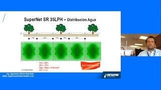 Curso en línea: Soluciones Netafim de riego para cítricos.