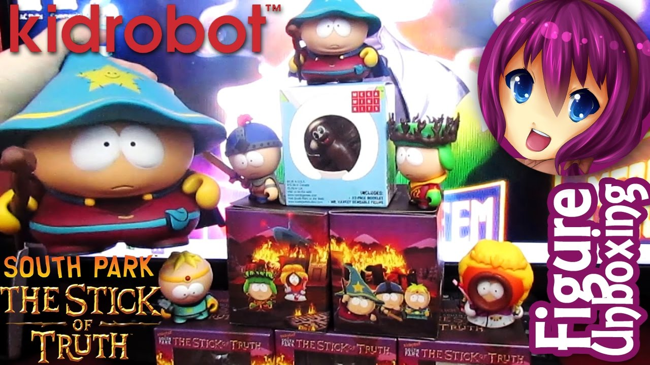 Kidrobot South Park Stick Of Truth Figure Unboxing Youtube