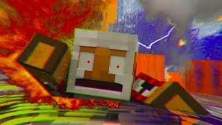 DONT go out at HALLOWEEN!!🎃 - Minecraft Animation Collab