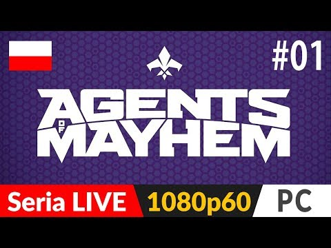 AGENTS OF MAYHEM PL 💪🏻 odc.1 (#1) 👊🏻 Premiera | Gameplay po polsku