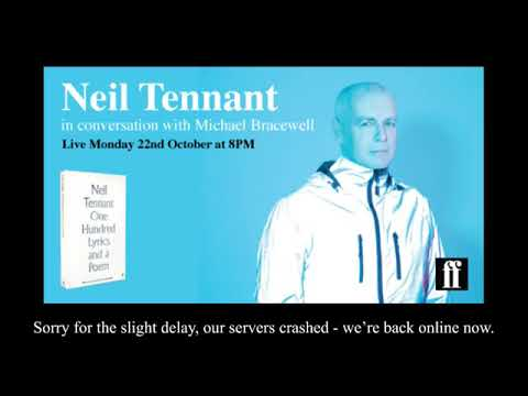 Neil Tennant Interview The Quietus was live