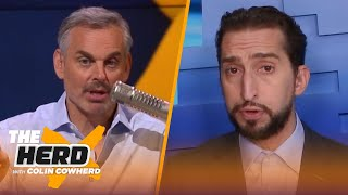 Nick Wright weighs in on Lakers' expectations for Drummond, Zion & extended NFL schedule | THE HERD