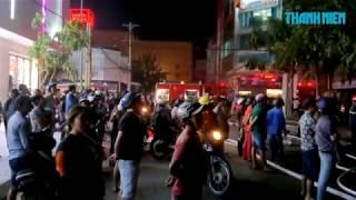 Cháy quán cà phê DJ Nhà Đất ngay trung tâm Phan Thiết