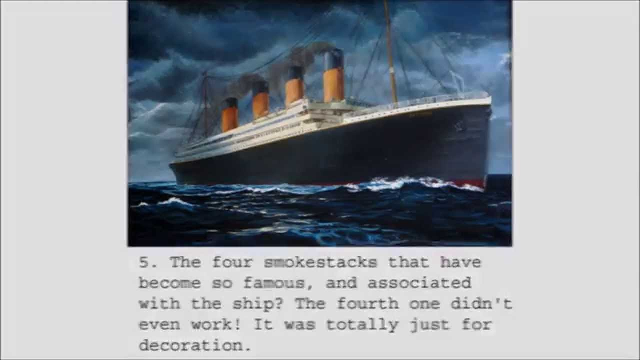 What are some facts about the Titanic?