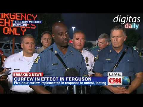 Police Report Shots Fired in Ferguson After Curfew, One Victim In Critical