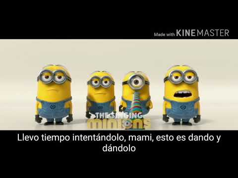 Despacito Luis fonsi & daddy Yankee - ft jb minion version with lyrics