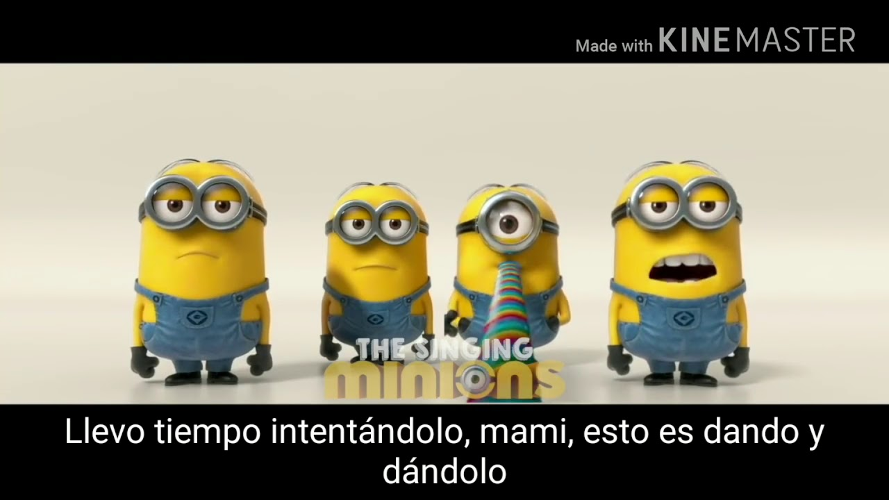 Despacito Luis fonsi & daddy Yankee - ft jb minion version