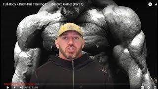 The Dolce Diet - Full-Body / Push-Pull Training For Massive Gains!
