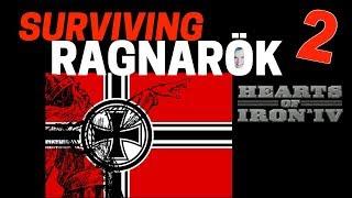 Hearts of Iron 4 - Challenge Survive Ragnarok! - Germany VS World - Part 2