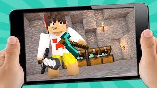 PERDIDO NAS BERMUDAS #2 - BASE SECRETA !! ( Minecraft Pocket Edition )