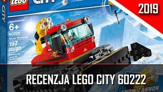 Klocki Lego City Pług gąsienicowy 60222 | 2019 | Recenzja  | U Norberta