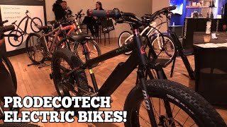 ProdecoTech Electric Bicycles at NY Luxury Tech Show!
