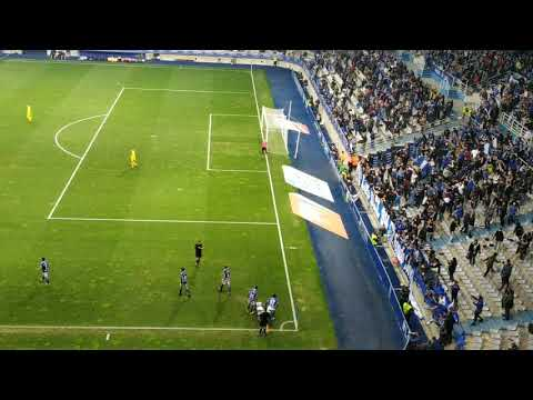 Real Oviedo 1 - Alcorcón 0; gol de Tejera