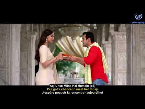 Aaj unse milna hai English subtitle with Lyric