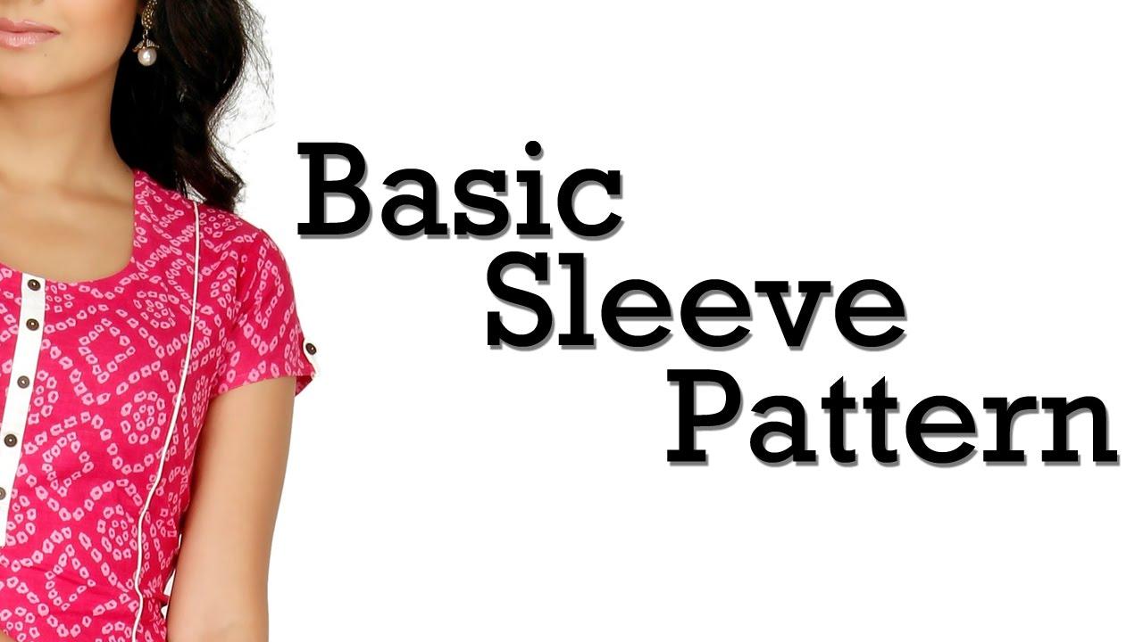 How to Make Basic Sleeve Pattern!! - YouTube