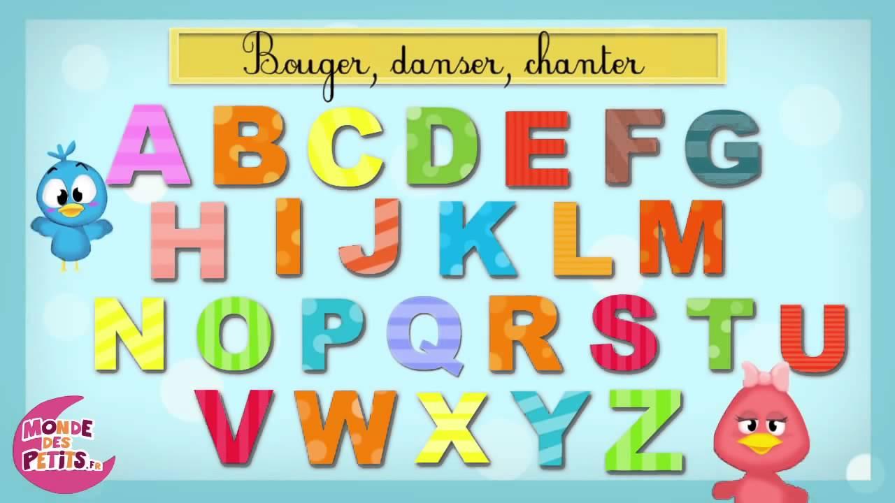 chanson pour enfants de l 39 alphabet fran ais youtube. Black Bedroom Furniture Sets. Home Design Ideas