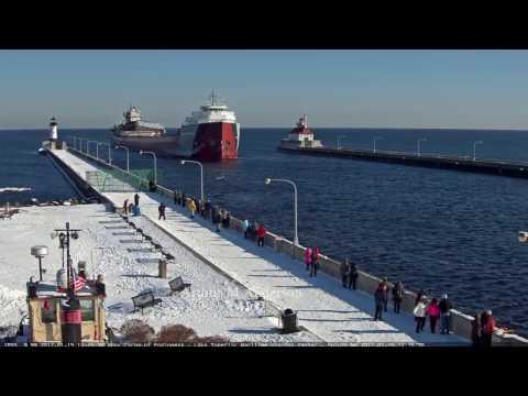 Arthur M Anderson arrived Duluth 01/15/2017