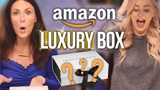 What's Inside a LUXURY Amazon Mystery Box?! (Beauty Break)
