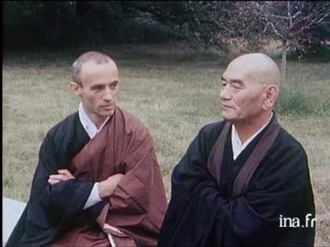 Reportage au temple zen de La Gendronnière - Taisen Deshimaru 1980