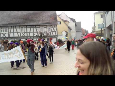 Fasching 2016, Viernheim-Deutschland