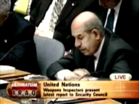 Mohamed ElBaradei On Iraq - Did he justify the war?