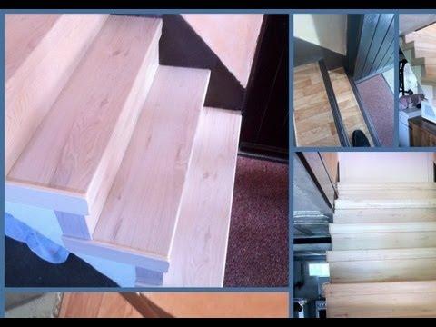 kit r novation pour escalier en b ton 33 0 6 30 66 78 63 youtube. Black Bedroom Furniture Sets. Home Design Ideas