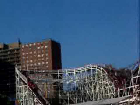 Brooklyn Cyclone Roller Coaster, August 08