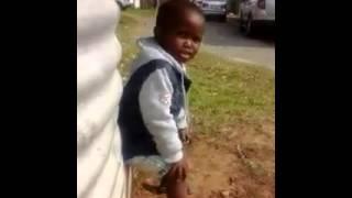 child singing nathi nomvula wam