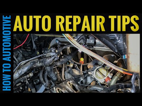 Quick Auto Repair Tips for Domestic and Import Vehicles