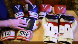 RDX Bag Gloves VS Title Gel 16 OZ World Bag Gloves Showdown Review