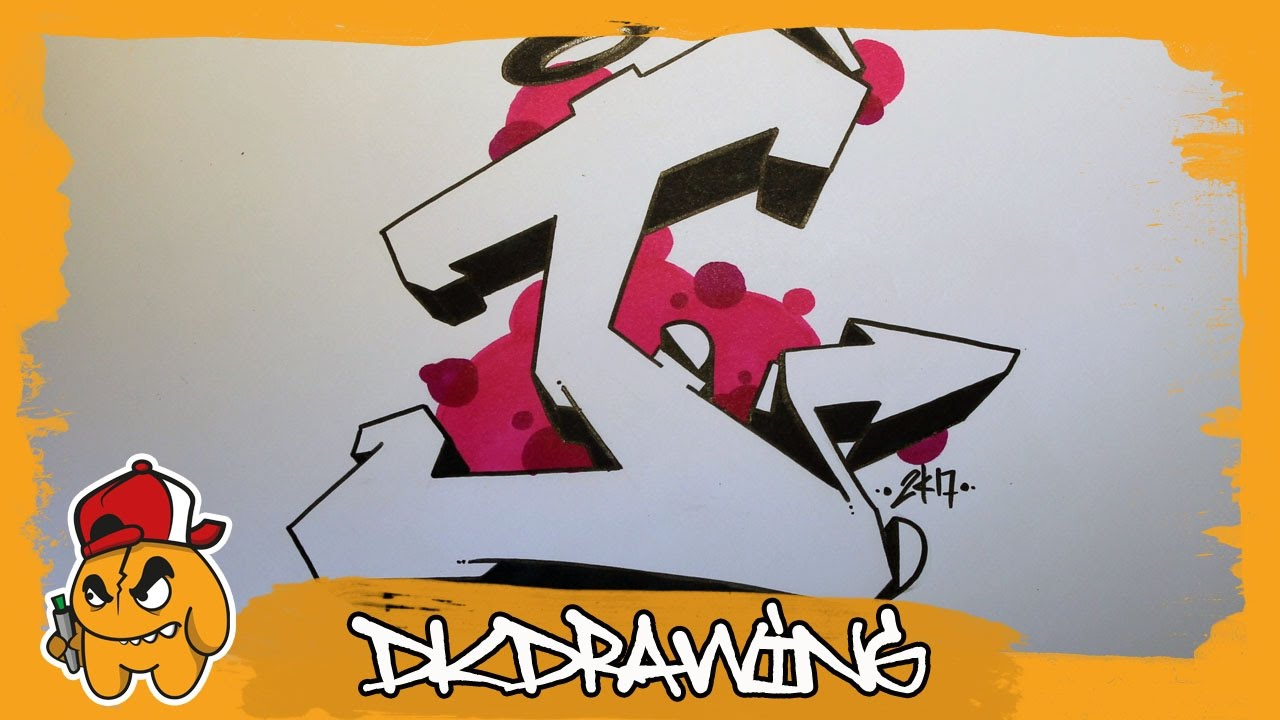 D Letter S To Draw