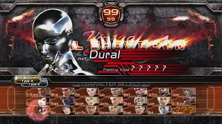 #975 Virtua Fighter 5 Final Showdown (X360) Boss: Dural moves demonstration.